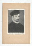 Tableaux , école Française , XVI E Siècle , Portrait De NICOLAS DE NEUVILLE  , Frais Fr : 1.55€ - Non Classés