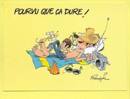 Gaston Lagaffe Pourvu Que ça Dure Marsu 1993   Signé Franquin TOP ( Prix Net ) - Bandes Dessinées