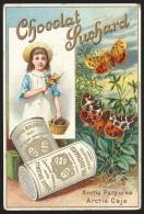 Chromo Chocolat Suchard - Papillons Et Mites - Suchard
