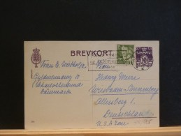 55/905  CP   DANMARK  POUR ALLEMAGNE - Postal Stationery