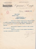 Lettre 1935 CIPRIANI & COMP Esportazione VERONA - Italie