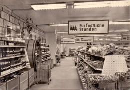 0-4000 HALLE - NEUSTADT, Kaufhalle Basar, Mini Weinkeller, 1969 - Halle (Saale)