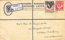 Northern Rhodesia / Stationery / G.B. / Leicestershire - Francobolli