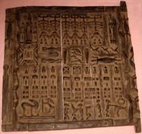 DOGON - Deur Van Honingschuur In Hout - Origineel Uit Mali - Art Africain