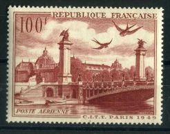 FRANCE ( AERIEN ) : Y&T N°  28  TIMBRE  NEUF  SANS  TRACE  DE  CHARNIERE , A  VOIR .