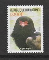 X] Timbre ** Stamp **  Burundi Aigle Royal Eagle Rapace Bird Of Prey 2008