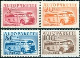 FINLAND 1952-58 Postbus M/52 PF-MNH-NEUF