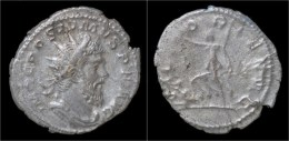 Postumus AR Antoninianus Victory Walking Left - 5. L'Anarchie Militaire (235 à 284)