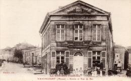 55 MEUSE - VAVINCOURT Ecoles Et Rue Du Bar - Vavincourt