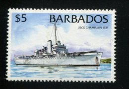 POSTFRIS MINT NEVER HINGED POSTFRISCH EINDWANDFREI Yvert 940 Schip Champlain 1931 - Barbades (1966-...)