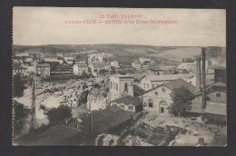 DF / 81 TARN / ARTHEZ / LA VILLE ET LES USINES MÉTALLURGIQUES / CIRCULÉE EN 1916 - Other Municipalities