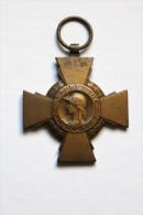 Médaille Croix Du Combattant République Française WWI - France