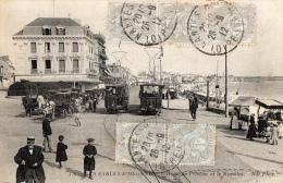 85 VENDEE - LES SABLES D OLONNE L'hôtel De L'Océan Et Le Remblai - Sables D'Olonne