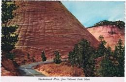 Cpsm   Checkerboard Mesa Zion National Park Utah - Salt Lake City