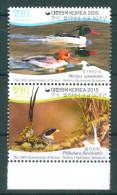 Korea 2015 Bolivia Birds Ducks Fauna 2v Se-ten. Vert MNH - Korea, South