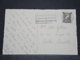 BELGIQUE - Carte De Bruxelles Pour Bruxelles Avec N° 571 - Seul Sur Carte - Nov 1942 - A Voir - P16743
