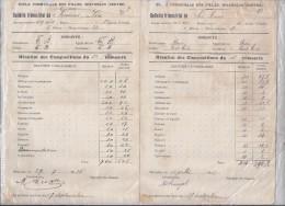 école Communale Des Filles Waterloo - 1927 - Diplomi E Pagelle