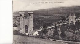 ALLONZIER-LA-CAILLE -  PONT DE LA CAILLE -  VARIANTE -  1913 - Otros Municipios
