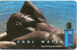 Parfum Davidoff Cool Water Cosmétique Cosmetics  Télécarte Allemagne Phonecard B336 - Perfume