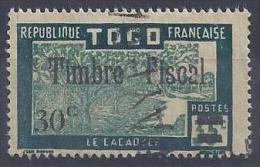 TOGO - F 71  30C SUR 35C TIMBRE POSTAL UTILISATION FISCALE - OBLITERE - Used Stamps