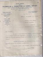 Feldspaths Et Pegmatites Du Djebel Saf-Saf  1928 - Belgio