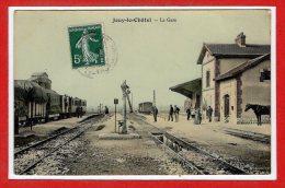 77 - JOUY Le CHATEL --   La Gare - Autres Communes