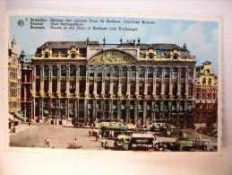 Carte Postale Bruxelles Maison Des Anciens Ducs De Brabant(anccienne Bourse) Brussel Oud Hertogenhuis (non Circulée) - Bauwerke, Gebäude