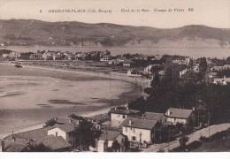 Cp , 64 , HENDAYE-PLAGE , Fond De La Baie , Groupe De Villas - Hendaye