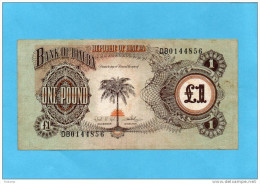 BIAFRA-Billet  One Pound Neuf Impeccable - Billets