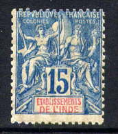 INDE - N° 6* - TYPE GROUPE - Neufs