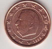 @Y@     Belgie  1 Cent 1999 Grote  Ster    UNC - Belgique