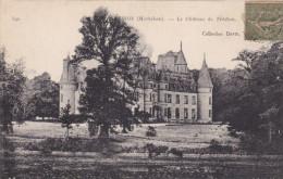 CPA LE CHATEAU DE TREDION - France