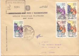 PP.TT - UFF. FILATELICO - ANNO SANTO STRAORDINARIO - R -1983 - TEMATICA TOPIC STORIA COMUNI D´ITALIA - Affrancature Meccaniche Rosse (EMA)