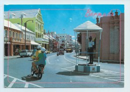 Bermuda - Street With Vehicles And Policeman - Stamp Posted 1993 - Altri