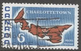 Canada. 1969 Bicentenary Of Charlottetown As Capital Of Prince Edward Island. 6c Used. SG 642 - 1952-.... Reign Of Elizabeth II