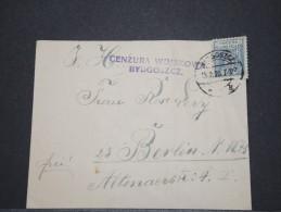 POLOGNE - Env Censurée - Fev 1920 - Pas Courant - A Voir - P16793 - 1919-1939 Republic