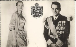 MONACO . S. A. S. RAINIER III . PRINCE DEMONACO ET GRACE KELLY - Prince's Palace