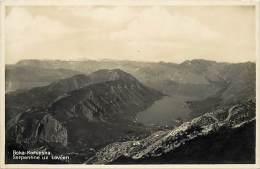 - Pays Divers - Ref- F726 - Montenegro - Boka Kotorska - Serpentine Uz Lovcen - Carte Bon Etat - - Montenegro