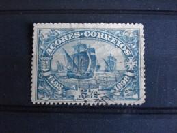 Açores - Année 1898 - Vasco De Gama 21/2 Vert - Y.T. 90 - Oblitéré - Used - Gestempeld - Portugal