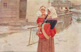 - Pays Divers - Ref- F717 - Carte Illustree - Illustrated Post Card - Vesele Vanoce - Carte Bon Etat - - Autres