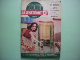 "TOUT LE SYSTEME ""D"" N° 94 OCTOBRE 1953 - Do-it-yourself / Technical"