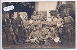 OFFENBACH--CARTE-PHOTO-SOUVENIR D OFFENBACH 1919-TRAVAUX AGRICOLES POUR NOS SOLDATS - Offenbach