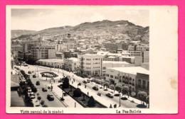 Bolivie - La Paz-Bolivia - Vista Parcial De La Ciudad - Vieilles Voitures - Animée - 1948 - Bolivia