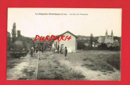 Orne - LA CHAPELLE MONTLIGEON - La Gare Du Tramways ... ( Tramway ) - France