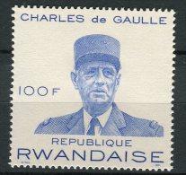 Rwanda - 1971 - MNH ** - COB 415A (from BL23) - Mi 447 (BL26) - De Gaulle - France - 1970-79: Neufs