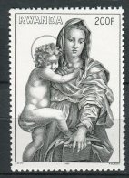 Rwanda - 1980 - MNH ** - COB 1011 (from BL90) - Mi 1076 (BL94) - Christmas - Andrea Del Sarto - Painting - Rwanda