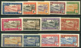 Niger (1927) Taxe N 9 à 21 * (charniere) - Niger (1921-1944)