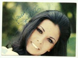 Autografo Di Rosanna Fratello - Autographes