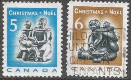 Canada. 1968 Christmas. Used Complete Set. SG 630-631 - 1952-.... Reign Of Elizabeth II