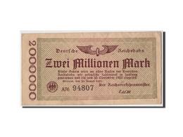 Allemagne, 2 Millions Mark, 1923, KM:S1012a, 1923-08-20, TB+ - 2 Millionen Mark